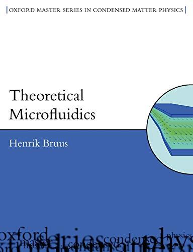 9780199235094: Theoretical Microfluidics