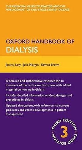 9780199235285: Oxford Handbook of Dialysis (Oxford Medical Handbooks)