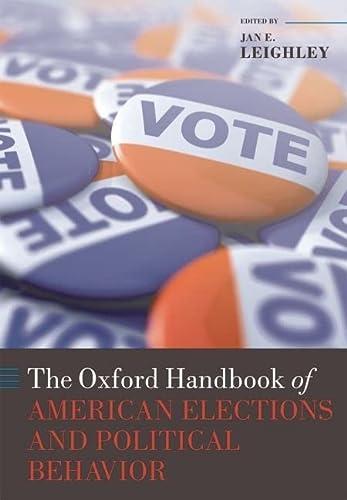 9780199235476: The Oxford Handbook of American Elections and Political Behavior (Oxford Handbooks)