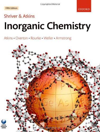 Shriver & Atkins' Inorganic Chemistry (0199236178) by Peter Atkins