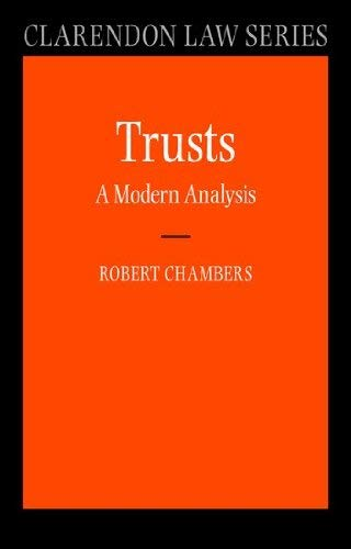 9780199236459: Trusts: A Modern Analysis