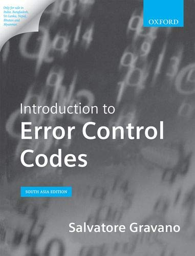 Introduction to Error Control Codes: Salvatore Gravano