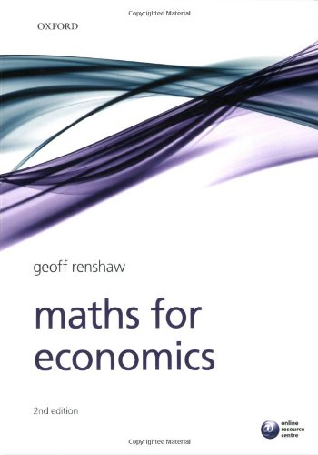 9780199236817: Maths for Economics