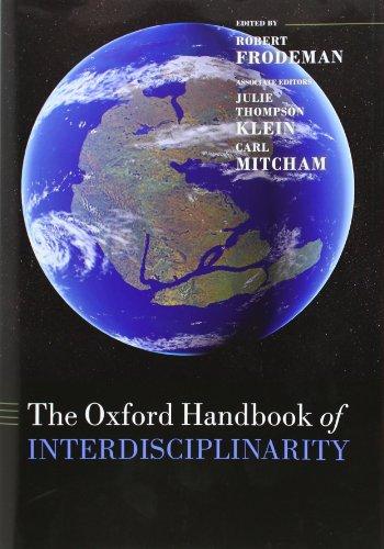 9780199236916: The Oxford Handbook of Interdisciplinarity (Oxford Handbooks in Biology)