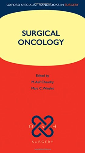 9780199237098: Surgical Oncology (Oxford Specialist Handbooks in Surgery)