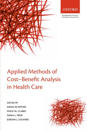 9780199237128: Applied Methods of Cost-Benefit Analysis in Health Care (Handbooks in Health Economic Evaluation)