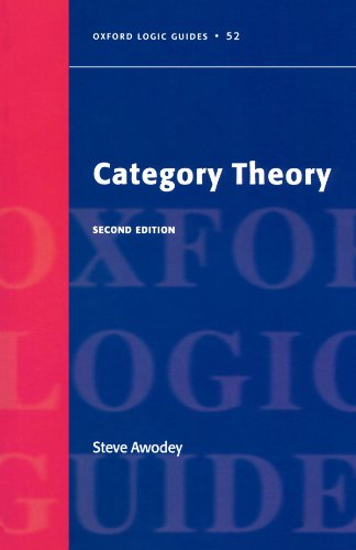 9780199237180: Category Theory (Oxford Logic Guides)