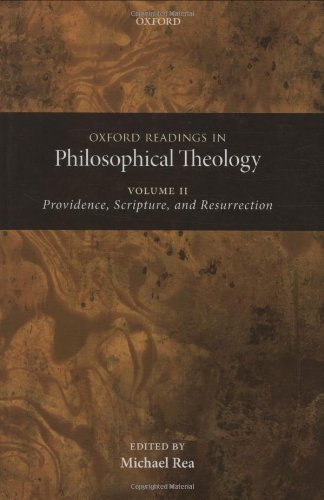 9780199237494: Oxford Readings in Philosophical Theology: Volume 2: Providence, Scripture, and Resurrection
