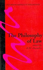 9780199238347: The Philosophy of Law