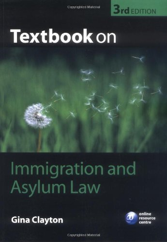 9780199238668: Textbook on Immigration and Asylum Law