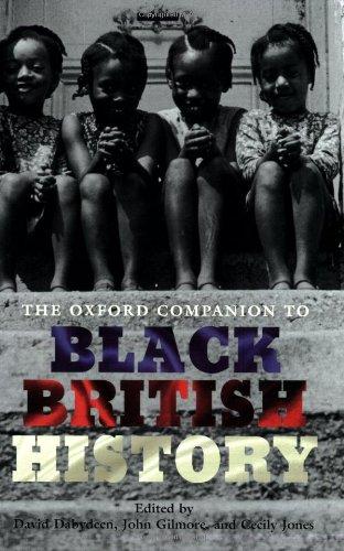 9780199238941: The Oxford Companion to Black British History (Oxford Companions)