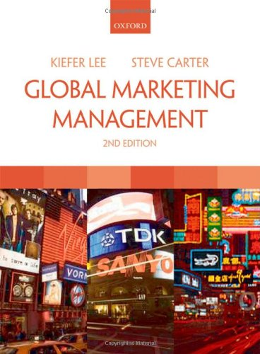 Global Marketing Management: Kiefer Lee, Steve