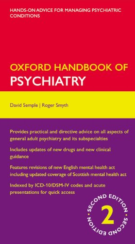 9780199239467: Oxford Handbook of Psychiatry (Oxford Medical Handbooks)