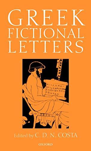 9780199240012: Greek Fictional Letters