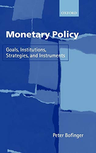 Monetary Policy (Hardcover): Peter Bofinger