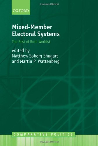9780199240791: Mixed-member Electoral Systems: The Best of Both Worlds? (Comparative Politics)