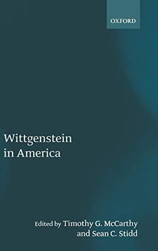 9780199241590: Wittgenstein in America