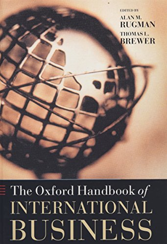 9780199241828: Oxford Handbook of International Business