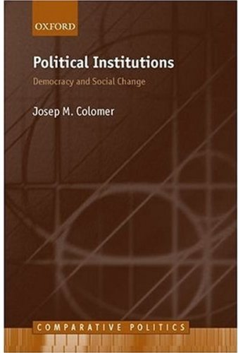 9780199241835: Political Institutions: Democracy and Social Choice (Comparative Politics)
