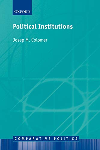 9780199241842: Political Institutions: Democracy and Social Choice (Comparative Politics)