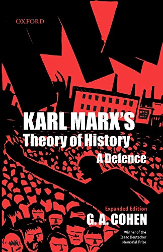 9780199242061: Karl Marx's Theory Of History: A Defence