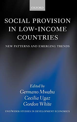 Social provision in low-income countries : new patterns and emerging trends.: Mwabu, Germano M., ...