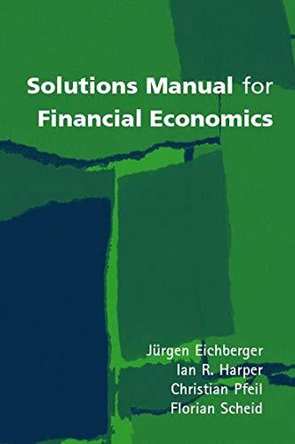 9780199242603: Solutions Manual for Financial Economics