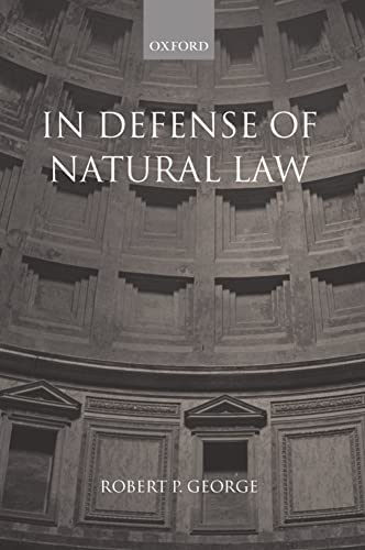 9780199242993: In Defense of Natural Law