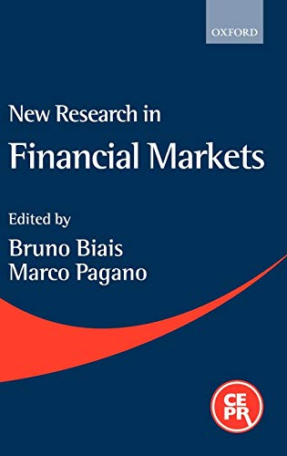 New Research in Financial Markets: A Reader
