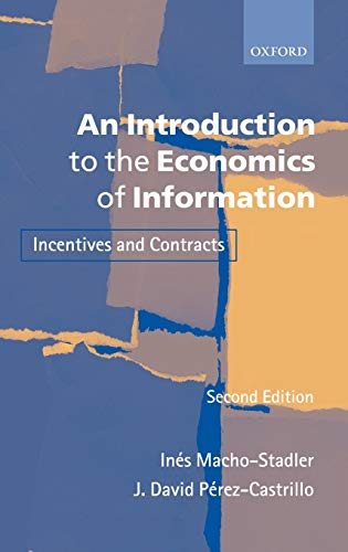 9780199243273: An Introduction to the Economics of Information: Incentives and Contracts (Spanish Edition)