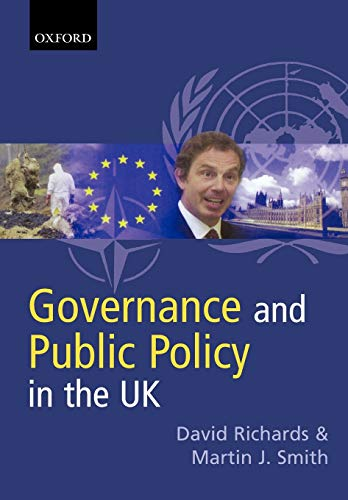 Governance and Public Policy in the UK: Richards, David