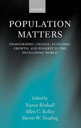 9780199244072: Population Matters: Demographic Change, Economic Growth, and Poverty in the Developing World