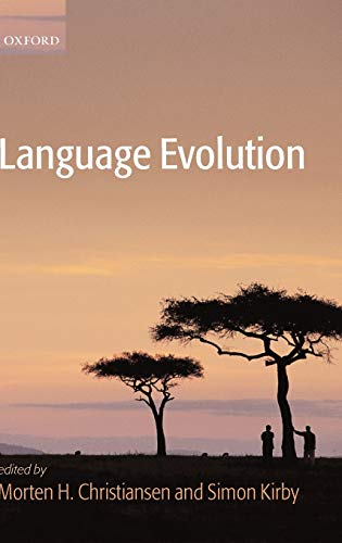 9780199244836: Language Evolution (Oxford Studies in the Evolution of Language)