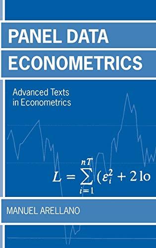 9780199245284: Panel Data Econometrics