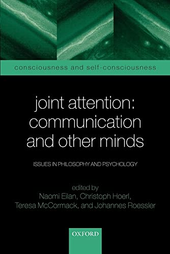 9780199245635: Joint Attention: Communication and Other Minds: Issues in Philosophy and Psychology (Consciousness & Self-Consciousness Series)