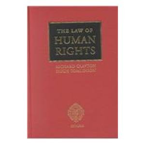 9780199245819: The Law of Human Rights