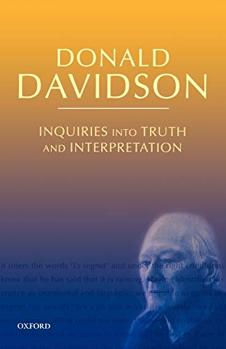 9780199246298: Inquiries into Truth and Interpretation: Philosophical Essays Volume 2 (The Philosophical Essays of Donald Davidson (5 Volumes))