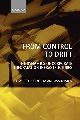 9780199246632: From Control to Drift: The Dynamics of Corporate Information Infrastructures