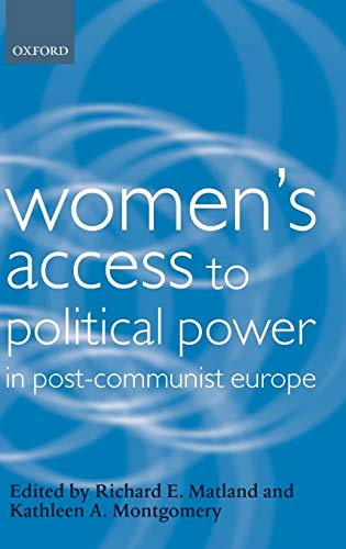 9780199246854: Women's Access to Political Power in Post-Communist Europe (Gender and Politics)