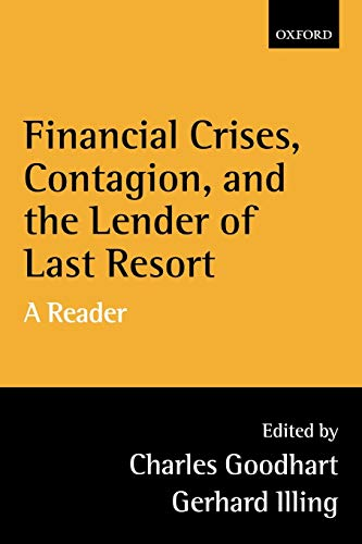 9780199247219: Financial Crises, Contagion, and the Lender of Last Resort