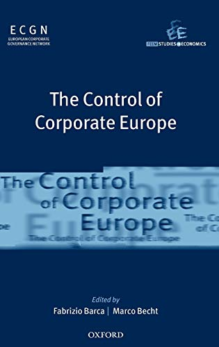 The Control of Corporate Europe (Feem Studies