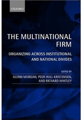 9780199247554: The Multinational Firm: Organizing Across Institutional and National Divides