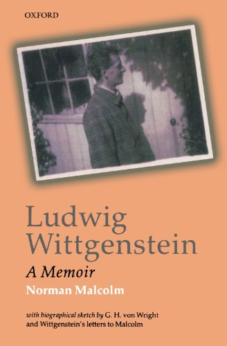 9780199247592: Ludwig Wittgenstein: A Memoir