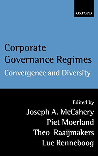9780199247875: Corporate Governance Regimes: Convergence and Diversity