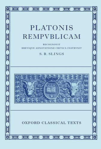 9780199248490: Plato Respublica (Oxford Classical Texts)