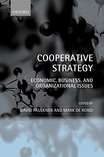 9780199248537: Cooperative Strategy: Economic, Business, and Organizational Issues