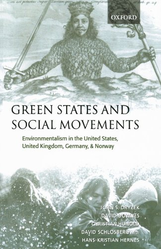 9780199249039: Green States and Social Movements: Environmentalism in the United States, United Kingdom, Germany, and Norway