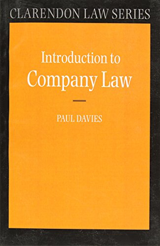 9780199249404: Company Law (Clarendon Law Series)