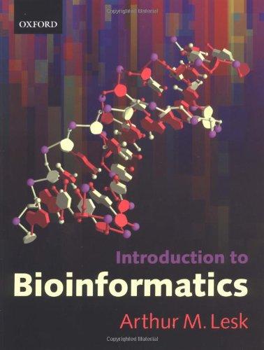9780199251964: Introduction to Bioinformatics