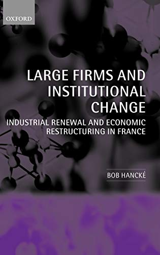 Large Firms and Institutional Change: Hancke, Bob